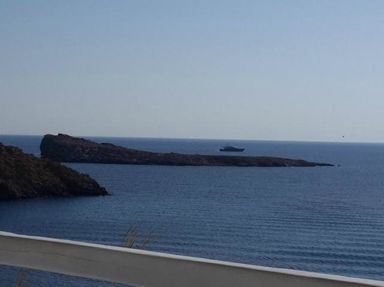 Mykonos Star: view from the room