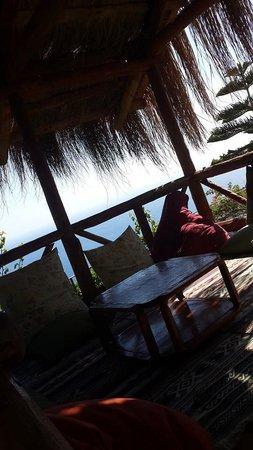 Lissiya Hotel: View from inside the kosk