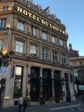 Hotel du Louvre: Bienvenue !
