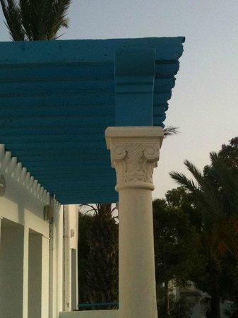 Garden Beach : вид с балкона
