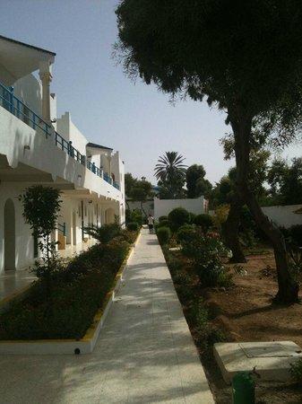 Garden Beach : территория отеля