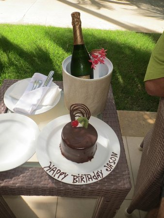 Now Larimar Punta Cana: birthday celebration