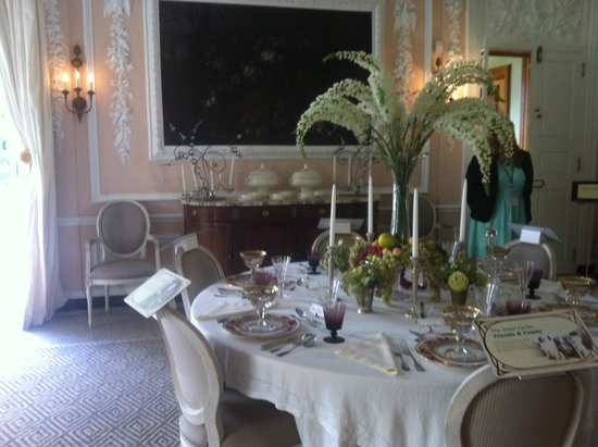 The Mount: The dining room