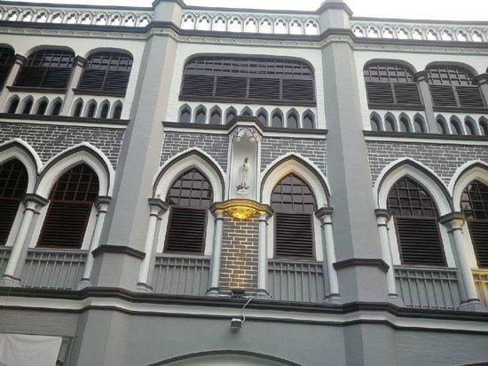St Joseph's Church : Church admin block