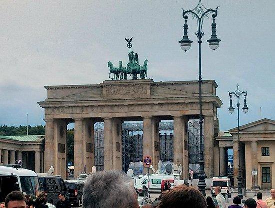 Puerta de Brandenburgo: Eccola!