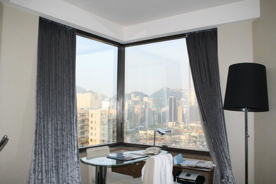 Harbour Grand Hong Kong: View from odd numbered room