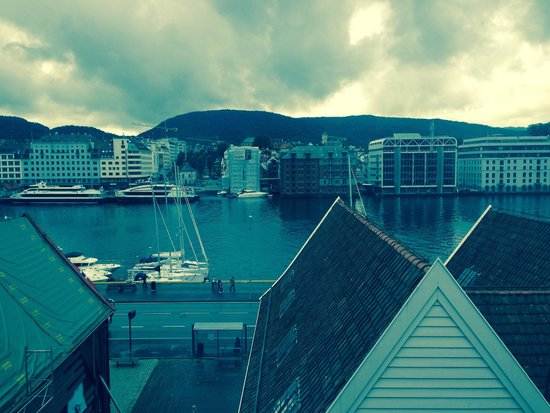 Radisson Blu Royal Hotel, Bergen: view from appartment
