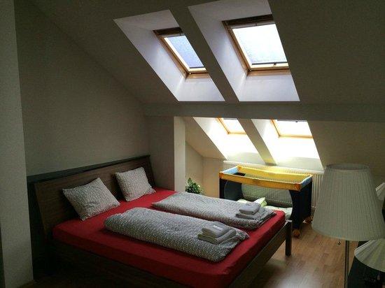 Jacob Brno Apartments - Hostel - Penzion: Спальня №1