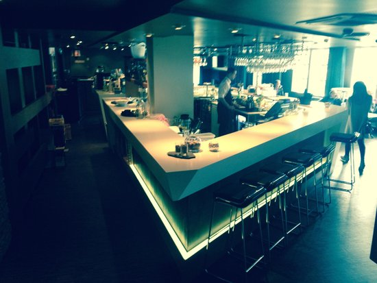 Radisson Blu Royal Hotel, Bergen: bar downstairs