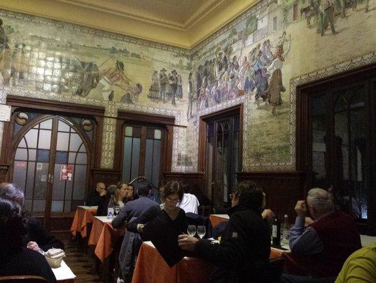 Casa do Alentejo : the dining room