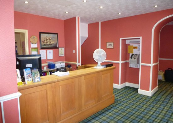 The Fairhaven Hotel: Hotel reception area