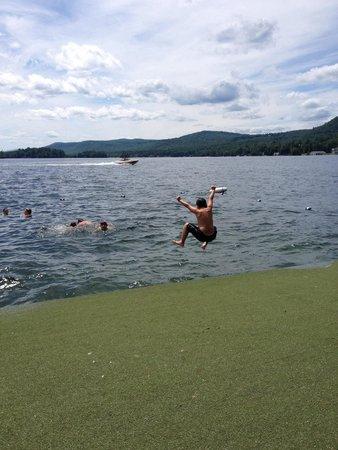 The Sagamore Resort : Lake swimming at The Sagamore.