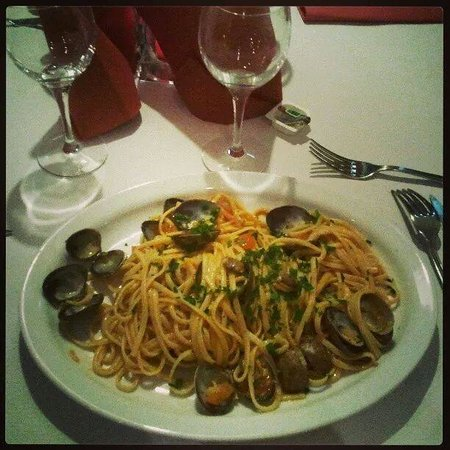 Twins: Spaghetti alle vongole, délicieux