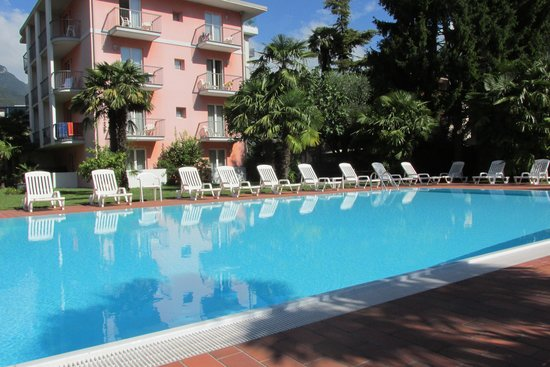 Hotel Brione : the hotel pool