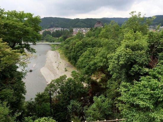 Ome Municipal Museum of Art: 美術館から眺める多摩川