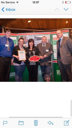 The Old Stables Tea Rooms: TEAROOMS LATEST AWARD 2014 countryside alliance welsh GOLD champions for local food