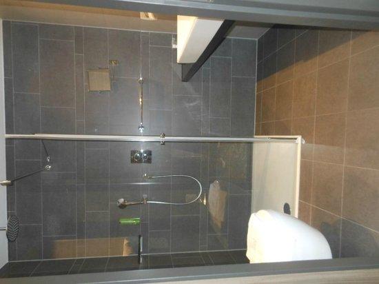 XO Hotels Park West: Nice clean bathroom, lovely lovely shower