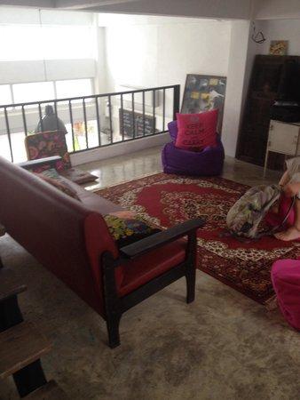Bewel Hostel: Sitting room