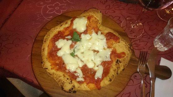 Pizzeria Starita a Materdei : Pizza 4 queijos