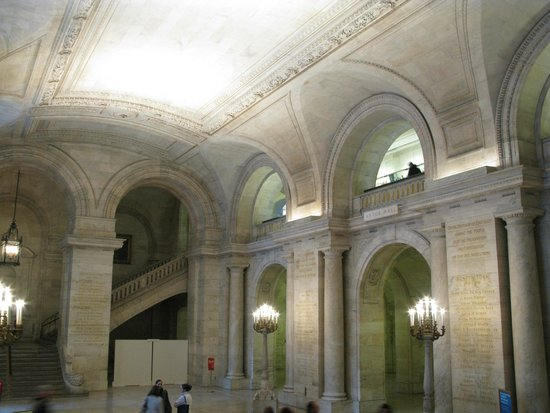 New York Public Library: Le hall