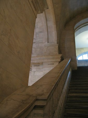New York Public Library: Escalier majestueux