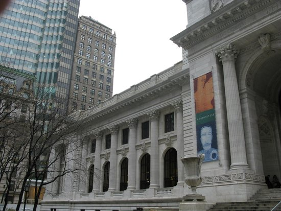 New York Public Library: La façade