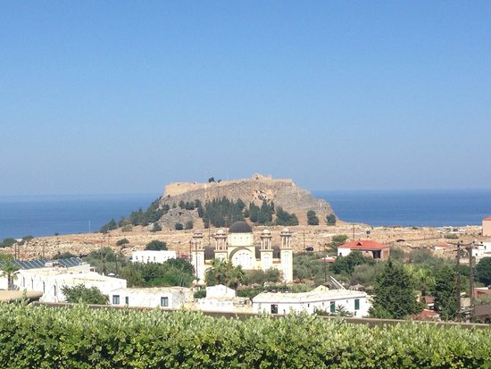 Lindos Horizon: View from room