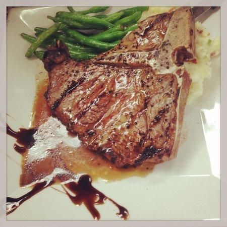 The Hollow Bistro & Brew: 16 oz T-bone steak