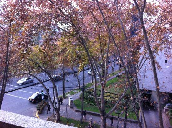 Hotel Orly: Vista do apartamento