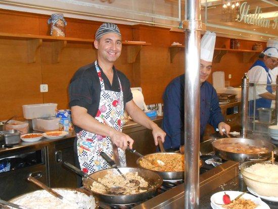 Mitsis Rinela Beach Resort & Spa : cuissons des pates fraiches