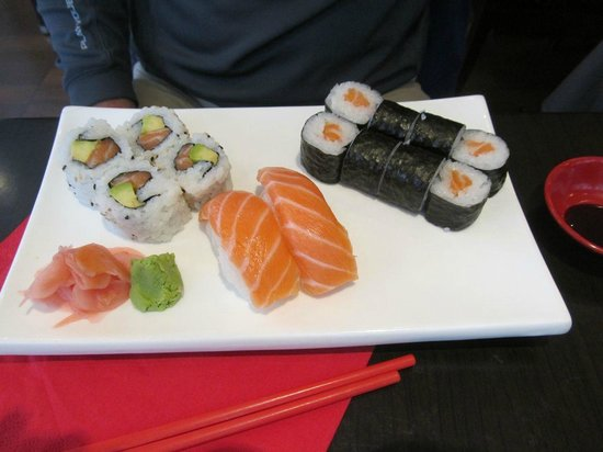 Le Kyoto : Sushi lunch