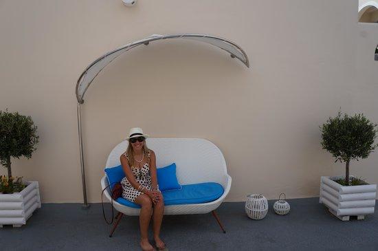 Evgenia Villas & Suites : seat