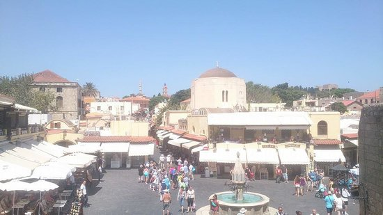 Rhodes: From above