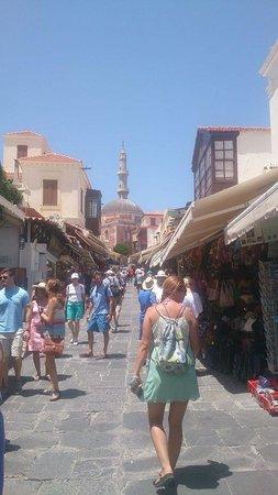 Rhodes: Streets