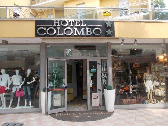 Entrata hotel Colombo :buon b & b
