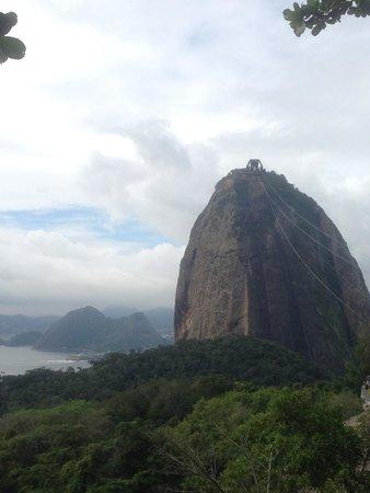 Pain de Sucre : A view of Pão de Açúcar from Morro da Urca