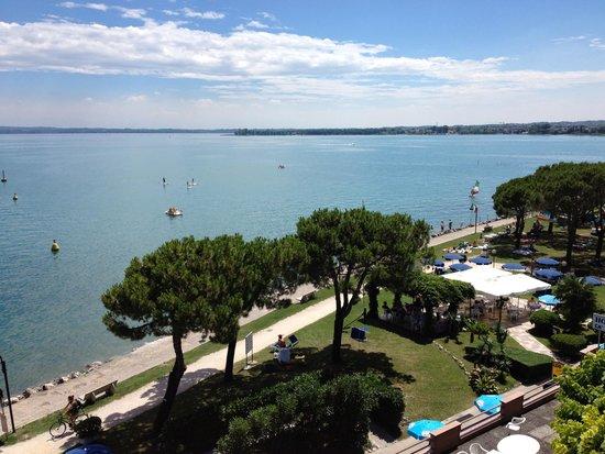 Hotel Belvedere : Blick vom Balkon