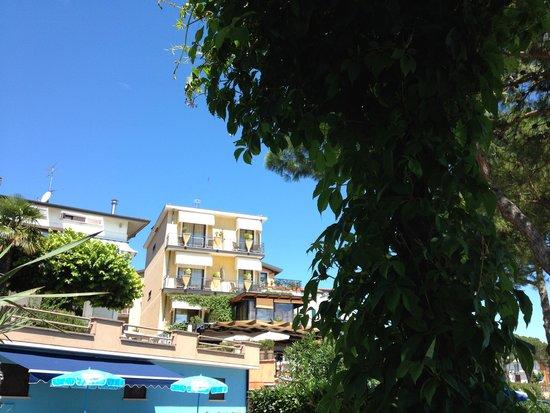 Hotel Belvedere : Blick zum Hotel
