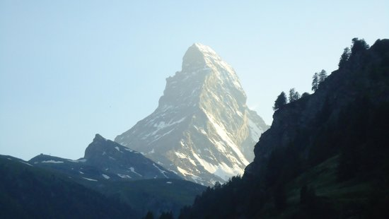 Coeur des Alpes: View of Matterhorn from the suite's balcony