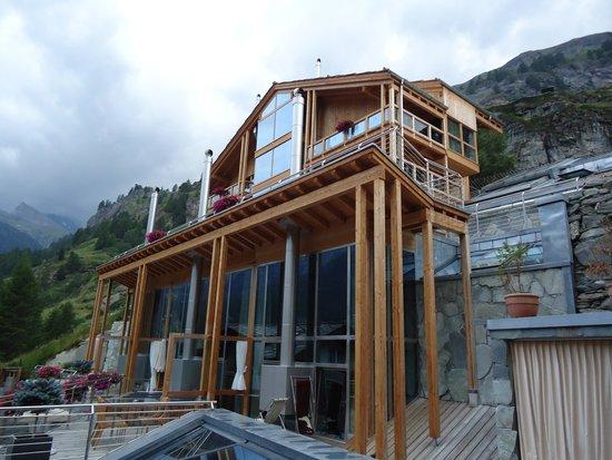 Coeur des Alpes : The annex