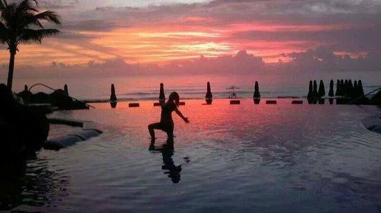Hard Rock Hotel Cancun: Bello amanecer en Hotel Hard Rock