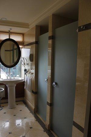 Hotel Okura Amsterdam: Separate shower and toilet in junior suite