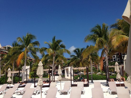 Villa del Palmar Cancun Luxury Beach Resort & Spa : beach area