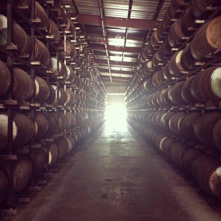 Cruzan Rum Distillery: Cruzan Rum Heaven!