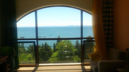 Sol Nessebar Bay: Окно в одной из комнат номера