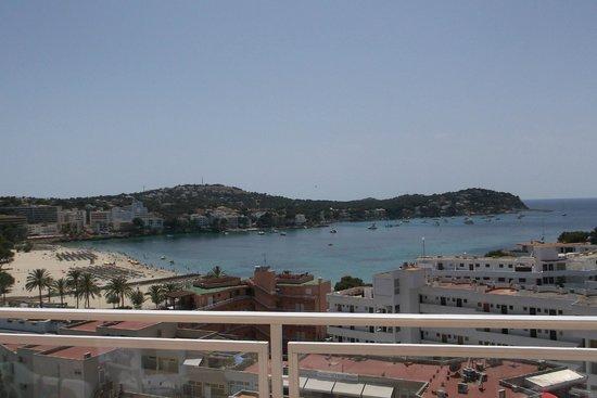 Apartamentos Deya: View from the 8th Floor