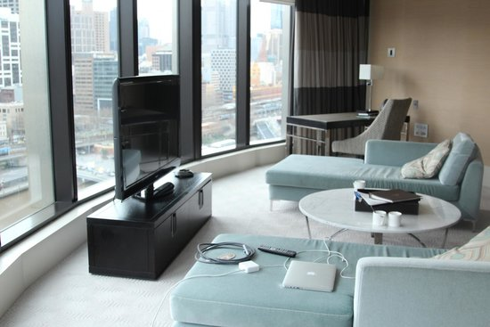 Crown Towers Melbourne: Living area