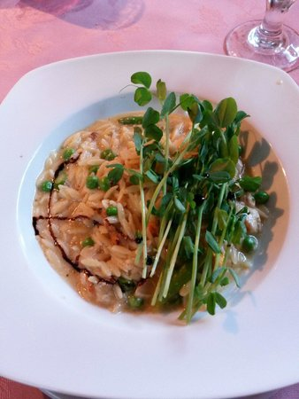 Spencer's Tall Trees Restaurant : Risotto -melt in your mouth delicious!