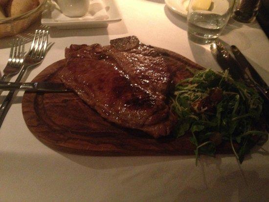 Annexe : 14oz t-bone steak