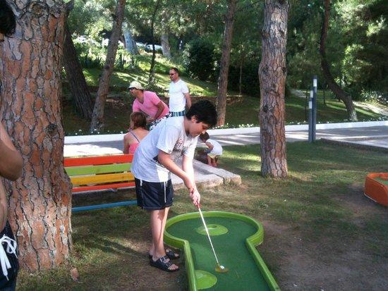 Paloma Pasha Resort : Mini golf alanı